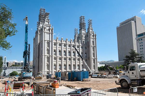 Salt Lake Temple Renovation