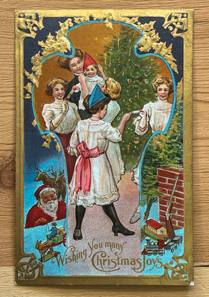 Antique Christmas card