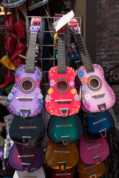 Guitars at Olvera Street